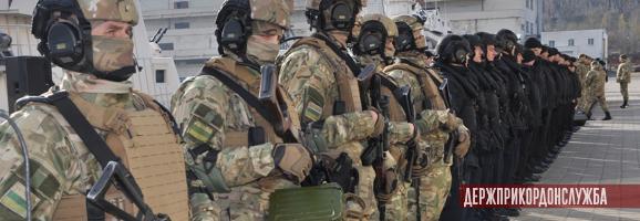 Військовослужбовці відділу спеціальних дій на воді Одеського загону морської охорони