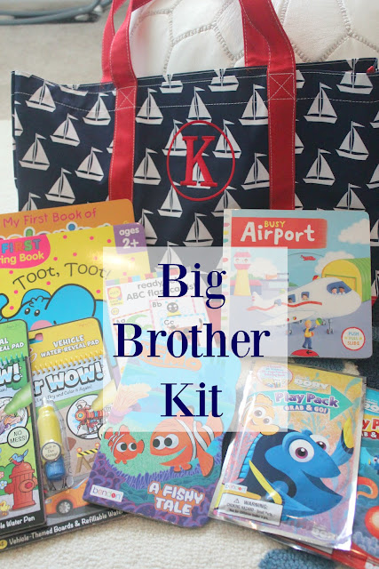 big brother gifts, big brother bag for hospital, big brother gift