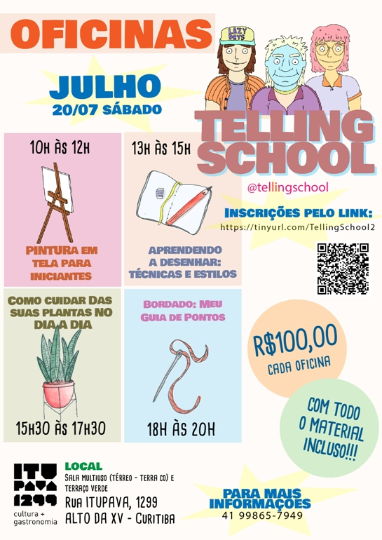 TELLING SCHOOL - Entretenimento Educativo