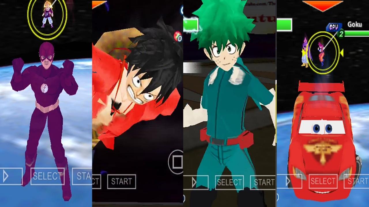 DBZ Tenkaichi Tag Team Mod Anime Crossover