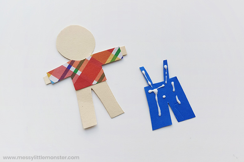 scarecrow craft for preschoolers