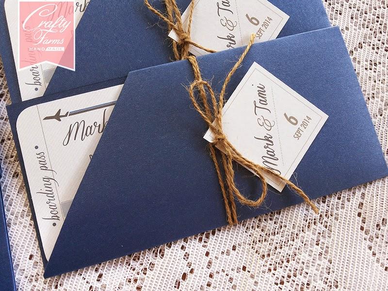 Wedding Card Malaysia Crafty Farms Handmade Gradient