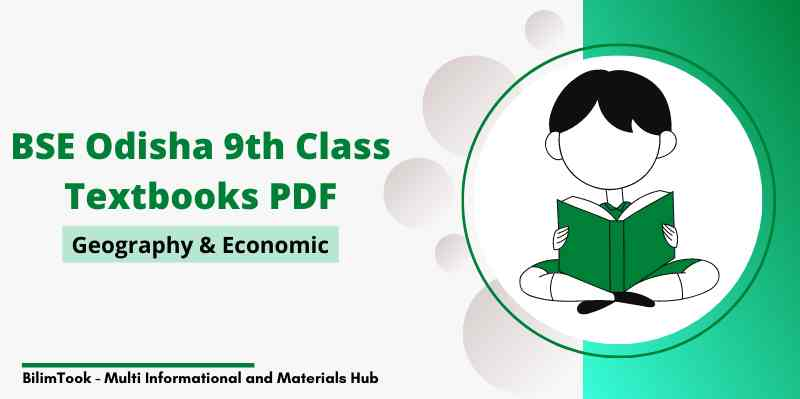 Odisha 9th Class Geography & Economic Book PDF Download