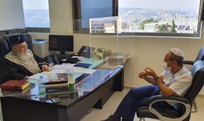 Rabino-chefe Yotzhak Yosef: Quem põe em perigo os outros deve suportar sua culpa
