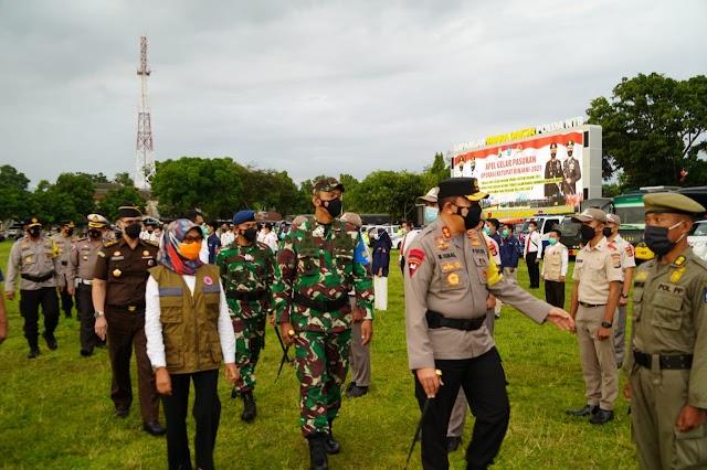 Ini Dia Sinergitas TNI Polri Di NTB, Siap Amankan Perayaan Idul Fitri 1442 H.