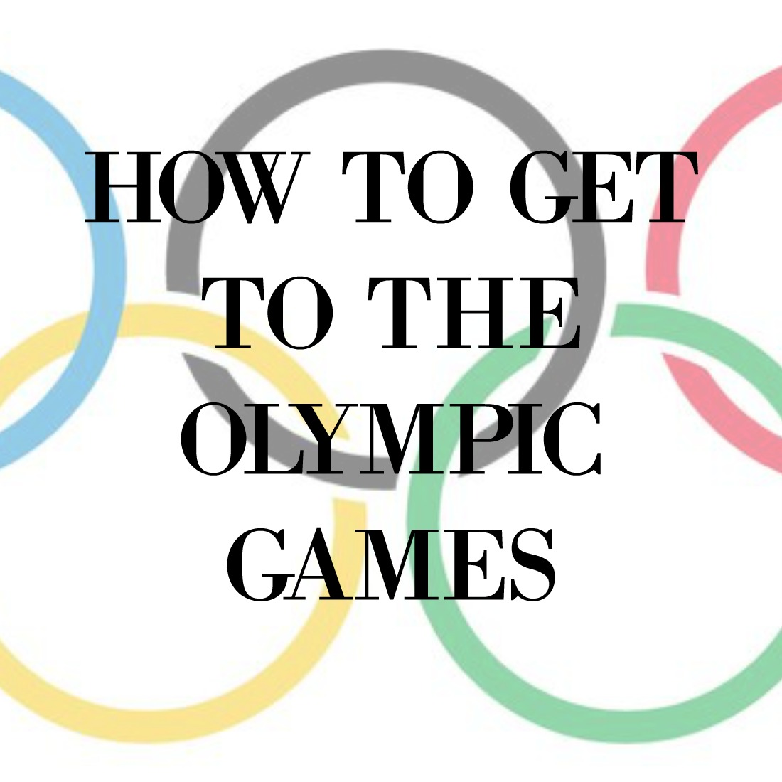 How to get to the Olympic 70