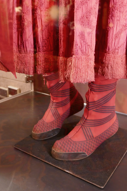 Shang-Chi Ten Rings Katy costume boots