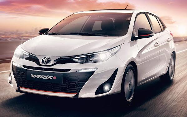 Toyota Yaris 2021 S chega com preço de R$ 89.990