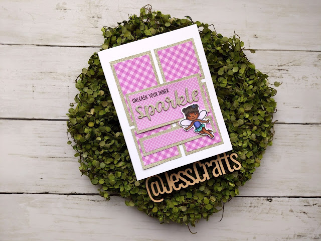 Card for One Sheet Wonder Template #16 by Jess Crafts