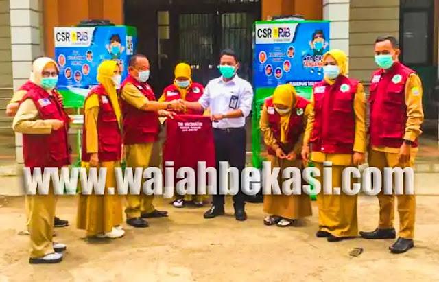 PJB Muara Tawar Dukung Vaksinasi di Kecamatan Tarumajaya
