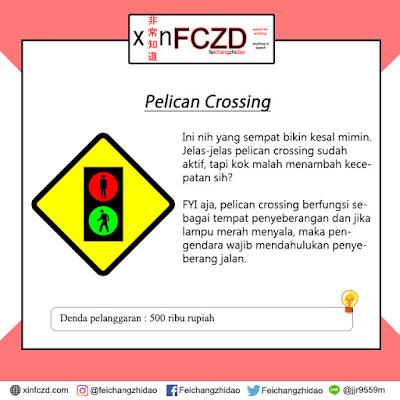 Pelican Crossing (Lampu Penyeberangan Jalan)