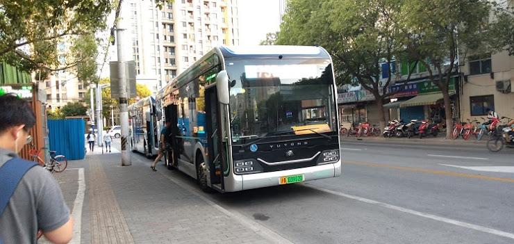 中国製の電動バス