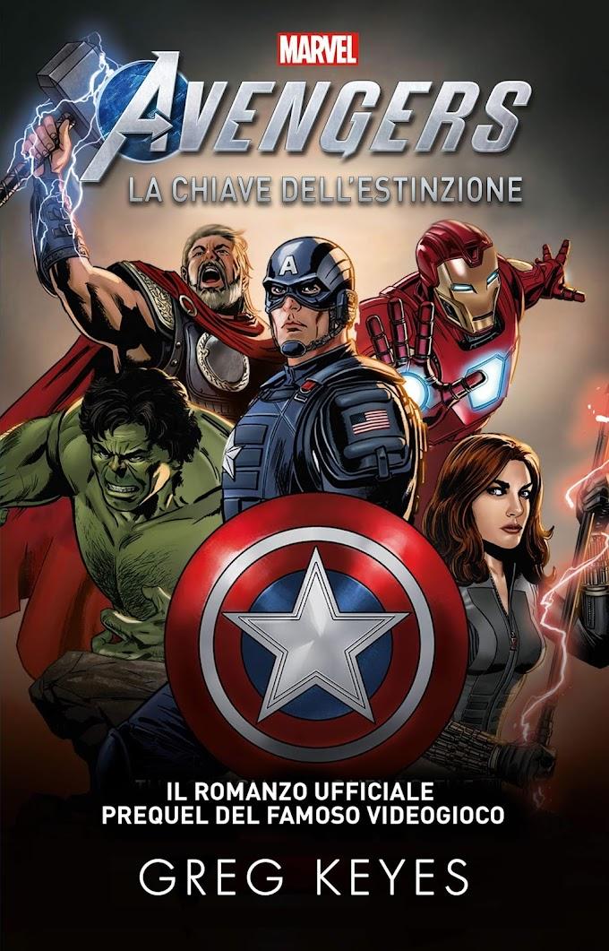 Marvel's Avengers - La Chiave dell'Estinzione | Recensione del romanzo prequel del videogioco