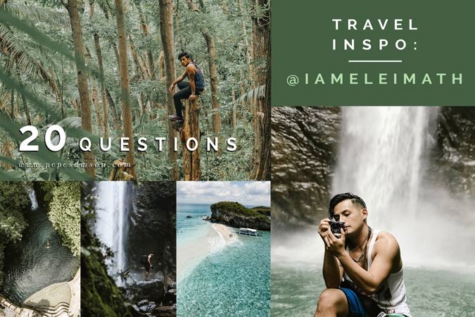 TRAVEL INSPO | 20 Questions with Travel Grammer @iameleimath