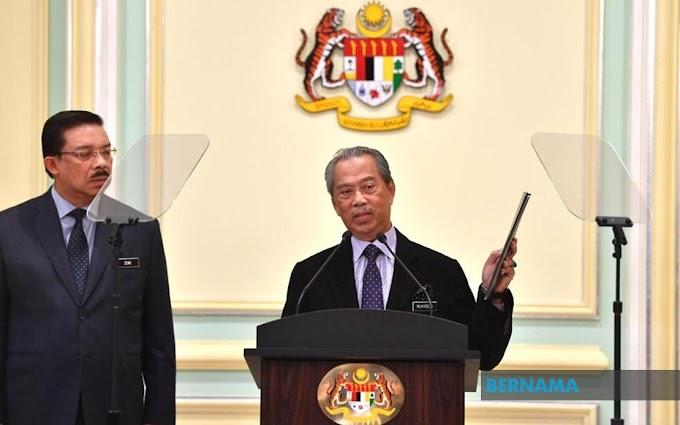 SENARAI MENTERI KABINET MALAYSIA 2020 DIBAWAH PENTADBIRAN TAN SRI MUHYIDDIN YASSIN
