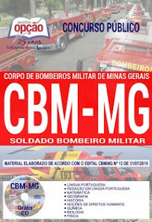 download Apostila Concurso CBM MG 2018 PDF
