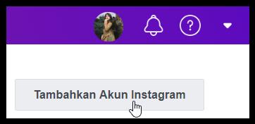 Tambahkan Akun Instagram