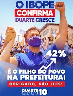 PODERÁ TER SURPRESA NA CORRIDA ELEITORAL PELA POSSE DA PREFEITURA DE SÃO LUÍS