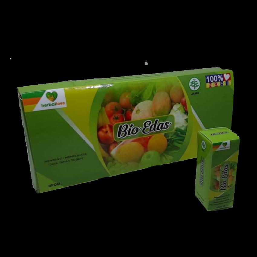 Jamu Tetes Bio Edash Fermentasi Rempah Buah Dan Sayur