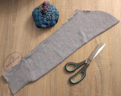 Adzik tworzy - jak uszyć skrzata DIY ze swetra