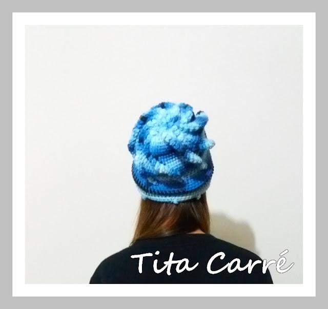 Gorro Pipoca em crochet
