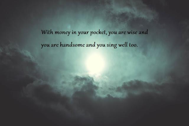 Yiddish proverb