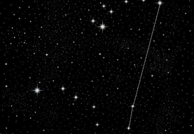 نجم قطبي,بولاريس,نجوم,السماء,بوصلة,gps