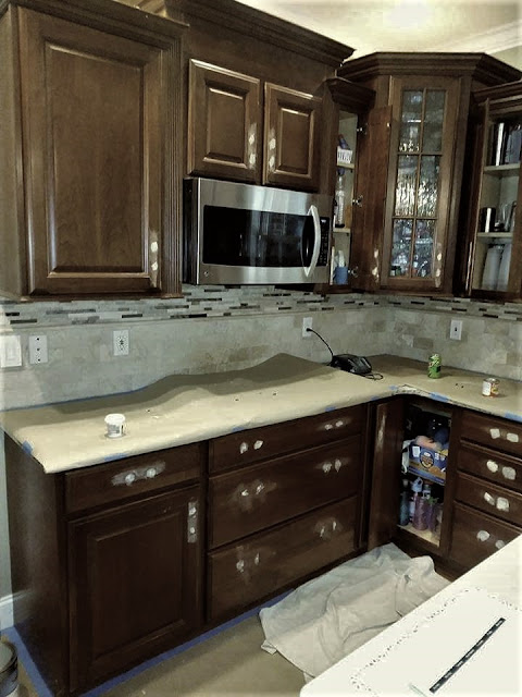 Kitchen Cabinet Refinishing11
