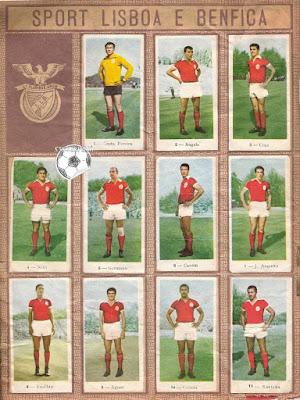 Benfica figurinas portugal