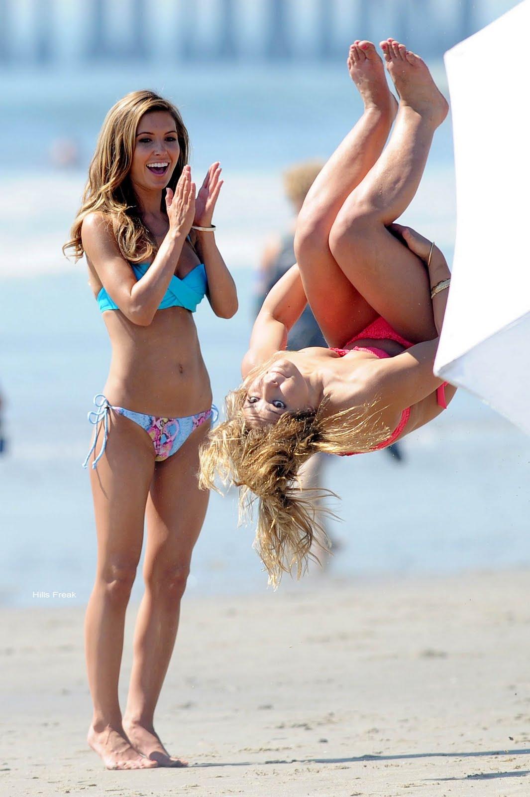 vid bikini Samantha harris