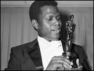 Sidney Poitier en los Oscars 1964