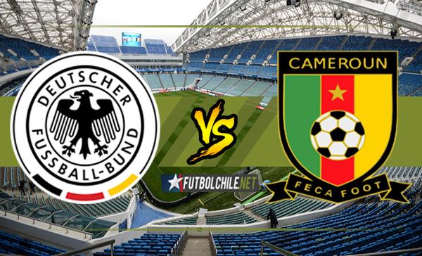Alemania vs Camerún
