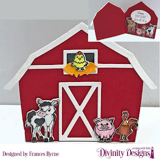 Stamp/Die Duos: Farm Friends, Stamp Set:  Hogs & Kisses, Custom Dies: Barn, Double Stitched Ovals