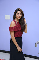 Pavani Gangireddy in Cute Black Skirt Maroon Top at 9 Movie Teaser Launch 5th May 2017  Exclusive 032.JPG