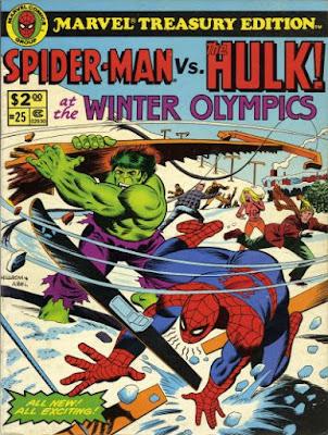 Marvel Treasury Edition #25, Hulk vs Spider-Man