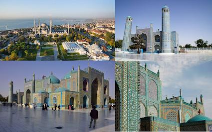 Hazrat Ali Mazar-i-Sharif, Blue Mosque Afghanistan