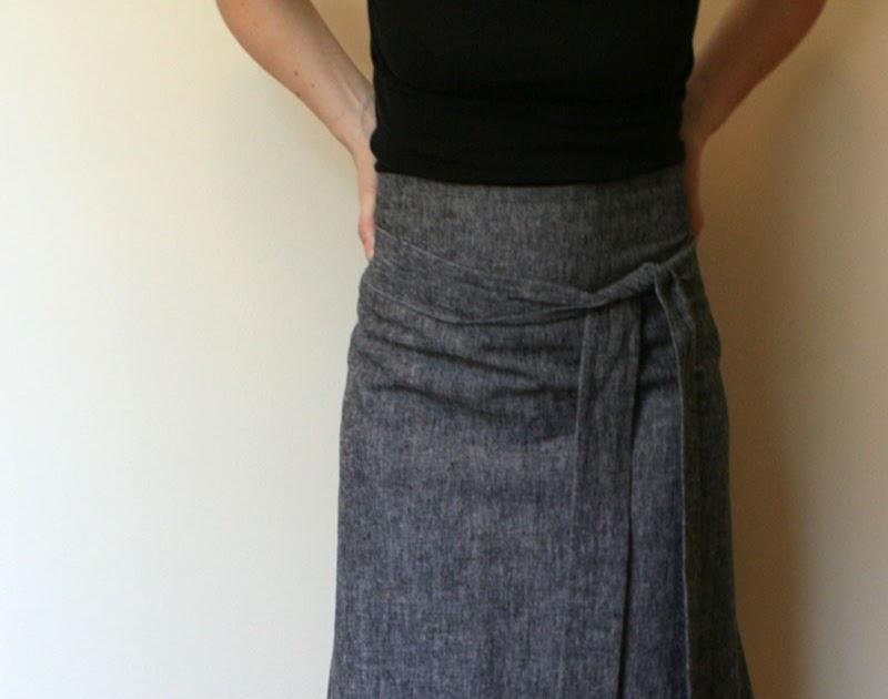 Sam Lamb Apron Skirt