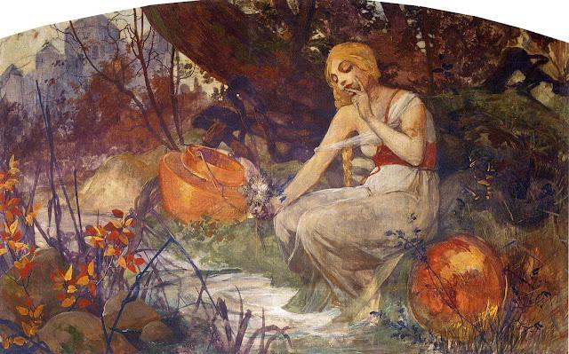 Альфонс Муха - Пророчица. 1896