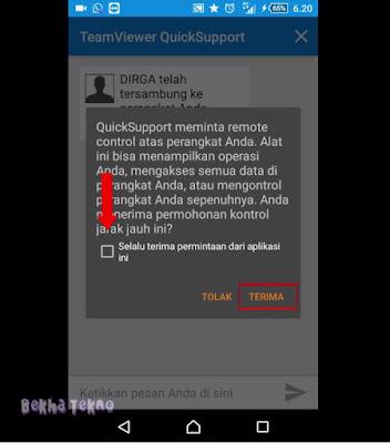 Cara Memperbaiki Hp Orang Lain Dari Jarak Jauh Dengan Mudah Menggunakan TeamViewer Quick Support