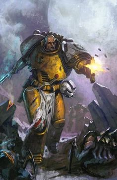 Updated: Imperial Fist Captian Tor Garadon Leaked!