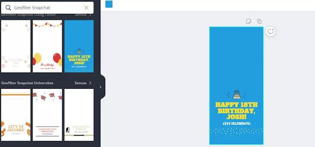Cara Membuat Geofilter Snapchat secara online-2