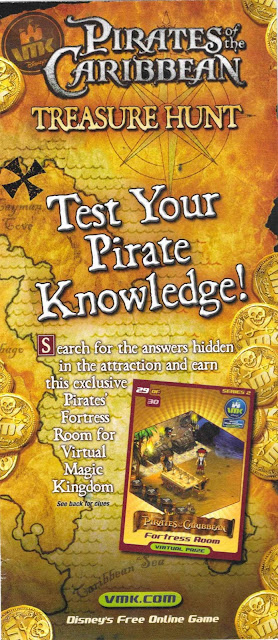 Pirates of the Caribbean Treasure Hunt VMK