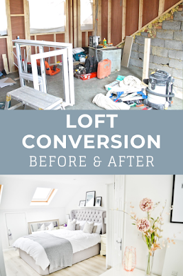 loft conversion before and after, loft conversion, loft renovation, loft conversion room tour