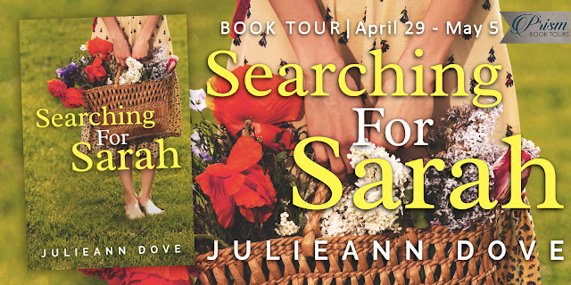 Searching for Sarah by Julieann Dove – Guest Post + Giveaway