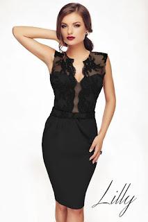 rochia-neagra-de-seara-lilly-2