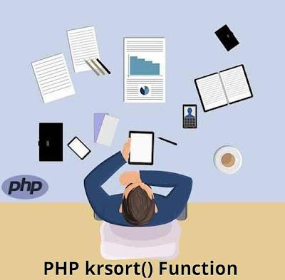 PHP krsort() Function
