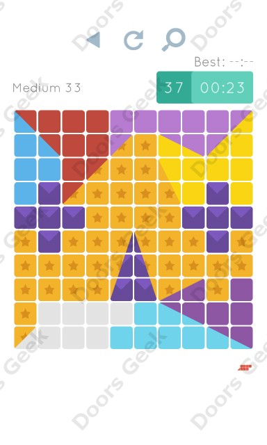 Cheats, Walkthrough for Blocks and Shapes Medium Level 33
