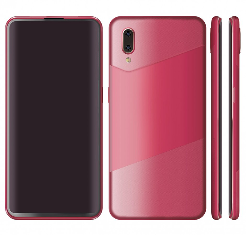 Alleged new Oppo slider phone has an all-screen front