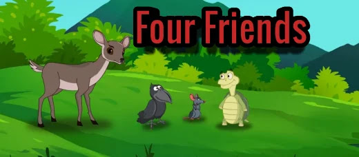 Four-friends-small-moral-english-stories-for-kids