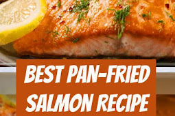 The Best Pan-Fried Salmon Recipe #easyrecipe #salmon #pan #frying #fried